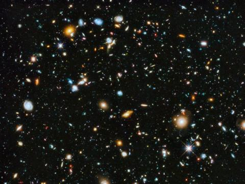 NASA's Hubble Space Telescope captured nearly 10,000 galaxies in this Ultra Deep Field image.