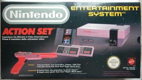 NES Action Set.