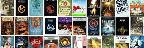Algunas de las novelas traducidas por Pilar Ramírez