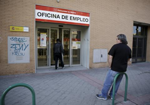 Employment office in Spain