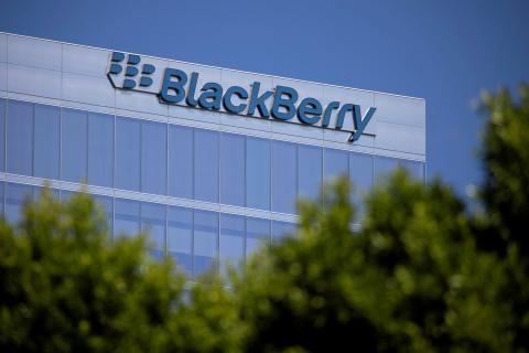 Las oficinas de BlackBerry en Estados Unidos