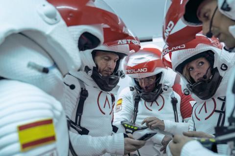 Participantes en la primera misión organizada por Astroland