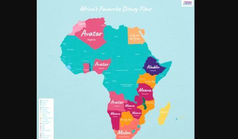 Películas Disney África