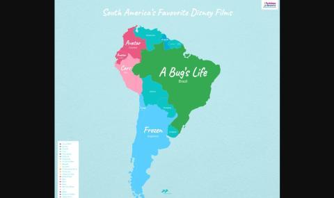 Películas Disney América Sur