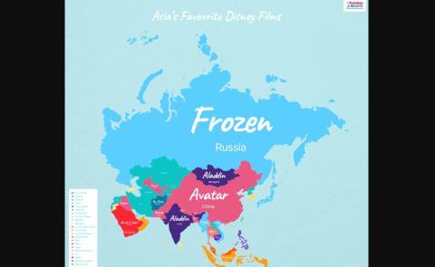 Peliculas Disney Asia