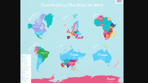 Películas Disney Mundo