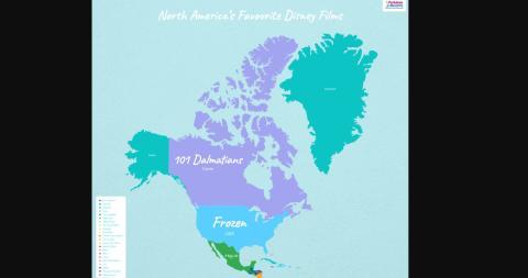 Películas Disney Norte América