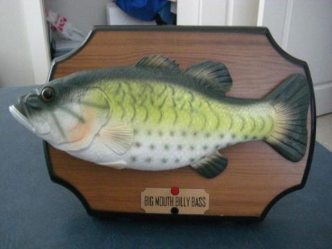 perca big mouth billy bass