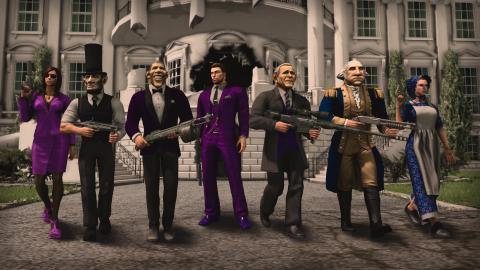 Saints Row 4 presidentes
