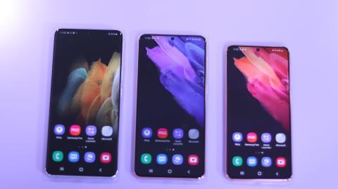 Samsung Galaxy S21, S21+ y S21 Ultra