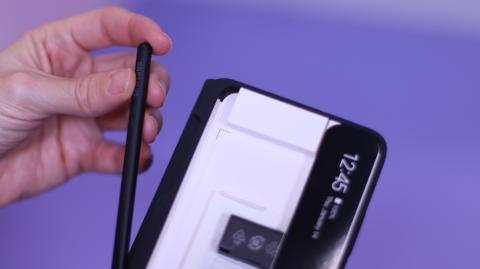 Funda y S-Pen del Samsung Galaxy S21 Ultra.