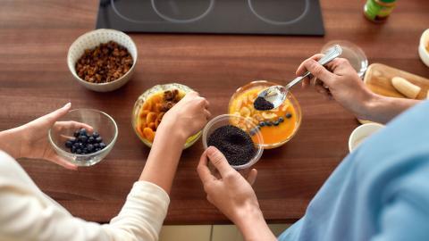 semillas de chía, desayuno salidable