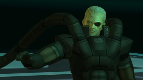 Solidus Snake MGS2
