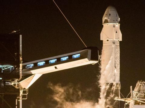 El 15 de noviembre, 4 astronautas fueron lanzados a bordo de la Crew Dragon Resillence, nave de SpaceX
