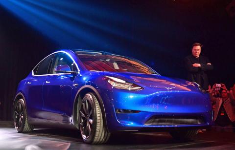 Tesla entregó los primeros crossovers Model Y antes de lo previsto el año pasado.