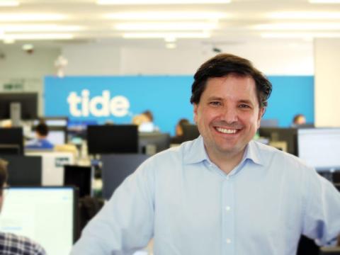 Oliver Prill, CEO de Tide.