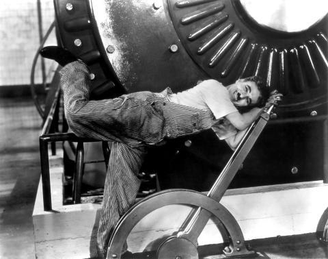 Tiempos modernos, películas de Chaplin