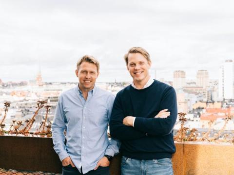 Los cofundadores de Tink, Daniel Kjellén (CEO) y Fredrik Hedberg (CTO).