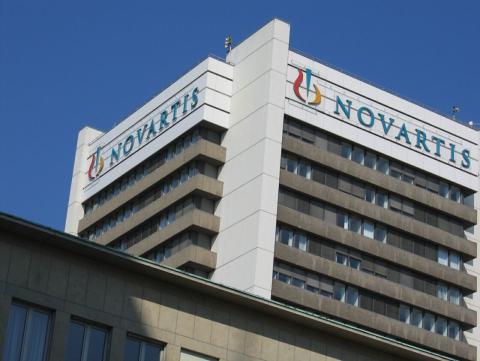 La sede del grupo farmacéutico Novartis, en Basilea, Suiza.