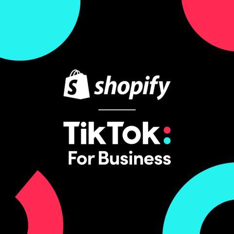 Acuerdo entre TikTok y Shopify