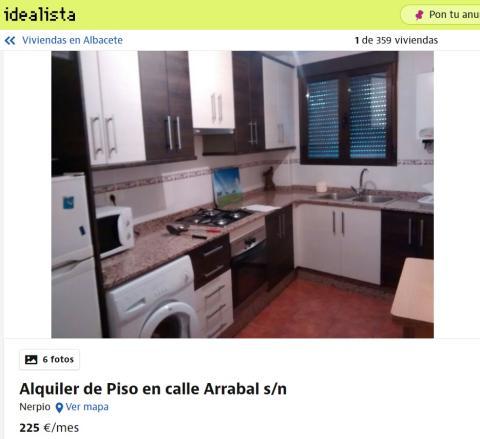 Albacete 225 euros