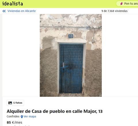 Alicante 85 euros