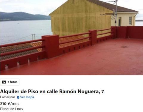 Alquiler barato en La Coruña.