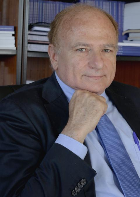 Aníbal Ollero, líder del proyecto, profesor de la Universidad de Sevilla y asesor científico del Catec.