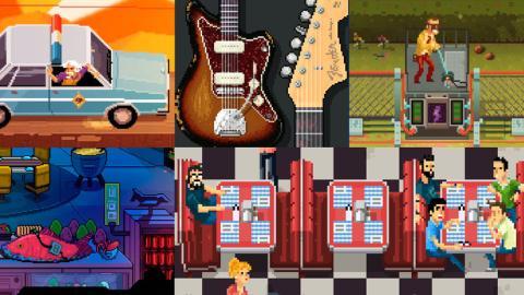 Animación de personajes en pixel art para videojuegos