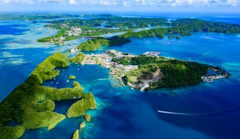 Archipiélago de Malakal y Koror, en Palau