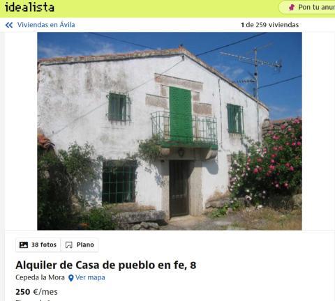 Ávila – 250 euros
