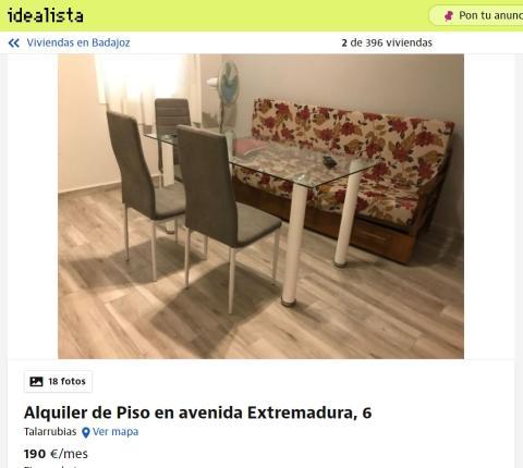 Badajoz– 190 euros