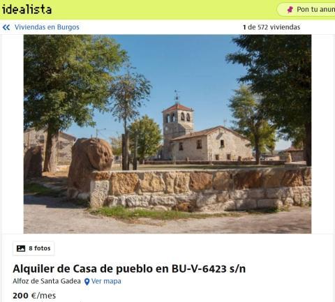 Burgos – 200 euros   La Coruña – 210 euros