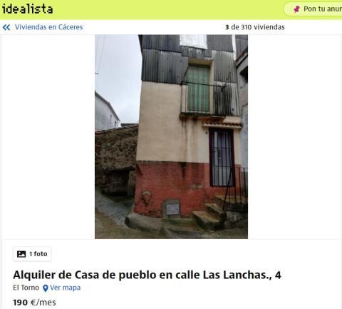 Cáceres – 190 euros