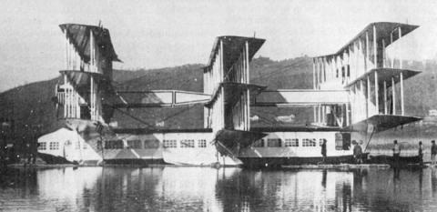 Caproni Ca.60 avión