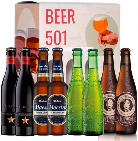 Cervezas Mahou Premium
