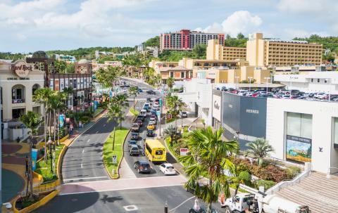 La ciudad de Guam, en el Pacífico Occidental