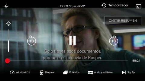 Cómo establecer el temporizador en Netflix