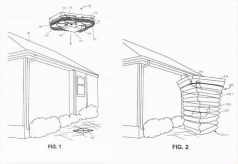 Conducto para Drones Amazon