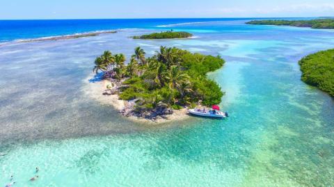 Deadman Caye isla
