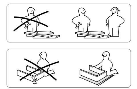 Desmontaje de muebles de Ikea