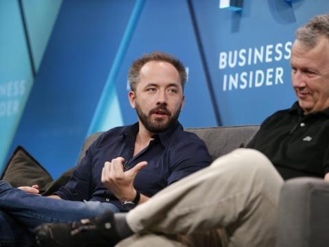 Drew Houston, cofundador y CEO de Dropbox.