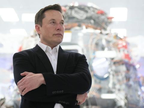 Elon Musk, CEO de SpaceX y Tesla. Yichuan Cao/Getty Images