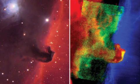 Espectros visibles NASA