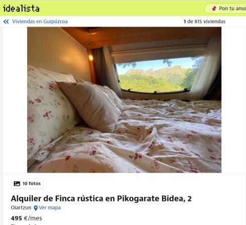 Guipúzcoa – 495 euros