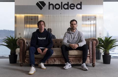 Javi Fondevila y Bernet Ripoll, cofundadores de Holded.