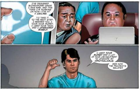 Iron Man Eduardo Noriega