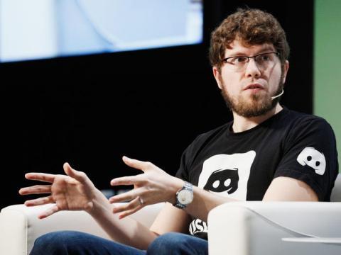 Jason Citron, cofundador y CEO de Discord.