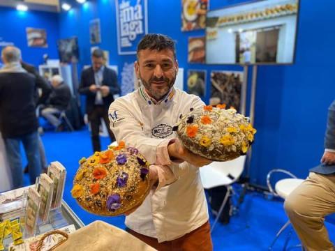 Juan Manuel Moreno, gerente de panadería Pan Piña
