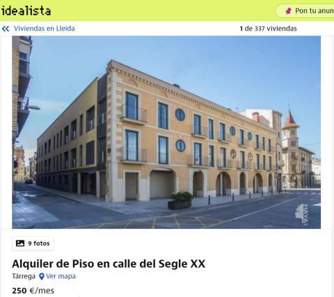 Lleida – 250 euros